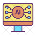 Artificial Computer Icon