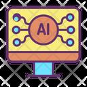 Iai Computer Tech Artificial Computer Artificial Intelligence Icon