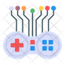 Artificial Game Technology Artificial Game Artificial Intelligence Icon