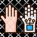 Artificial Hand Artifical Robot Hand Robot Hand Icon