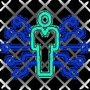 Artificial Human Icon