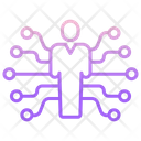 Iai Human Tech Artificial Human Artificial Intelligence Icon