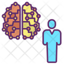 Ihuman Ai Brain Artificial Human Mind Artificial Human Brain Icon