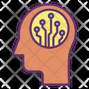 Ihead Artificial Human Mind Artificial Human Brain Icon