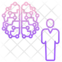 Artificial Human Mind Icon