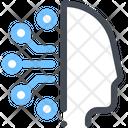 Artificial Machine Mind Icon