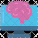 Artifical Inteligence Robot Ml Icon