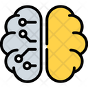Artificial Intelligence Learning Icon