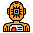 Artificial Intelligence Engineering Chip Icon