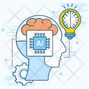 Artificial Intelligence Machine Learning Deep Learning Icon