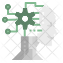 Ai Robot Technology Icon