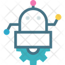 Brain Robot Cybernetics Icon