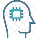 Robot Brain Technology Icon