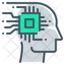 Artificial Artificial Intelligence Intelligence Icon