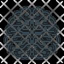 Artificial Artificial Intelligence Brain Icon