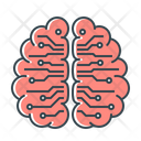 Artificial Intelligence Artificial Brain Icon