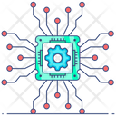 Machine Intelligence Artificial Intelligence Artificial Intellect Icon