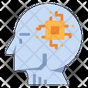 Artificial Intelligence Ai Humanoid Icon