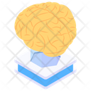 Artificial Intelligence Ai Brainstorming Icon