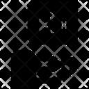 Cyborg Robot Network Icon