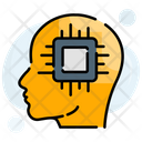 Artificial Brain Intelligence Icon