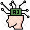 Artificial Intelligence Brain Ai Icon