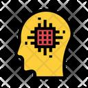 Mind Chip Head Icon