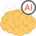 Artificial Intelligence Humanoid Icon