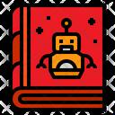 Artificial Intelligence Book Ai Book Ai Learning Book Icon