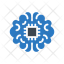 Brain Cpu Chip Icon