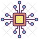 Ai Chip Artificial Intelligence Chip Intelligence Chip Icon