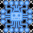 Artificial Intelligence Chip Ai Chip Ai Processor Icon