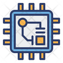 Artificial Intelligence Processor Icon