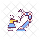 Artificial Intelligence Takeover Icon