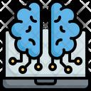 Brain Automaton Futuristic Icon
