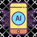 Iai Mobile Tech Artificial Mobile Artificial Intelligence Icon