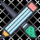 Paint Brush Pencil Icon