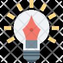 Artwork Bulb Creativity Icon