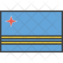 Aruba Country Flag Icon