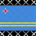 Flag Country Aruba Icon