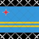 Aruba National Country Icon