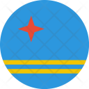 Aruba Flag World Icon