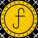 Aruba Guilder Coin Money Icon