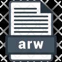 Arw File Formats Icon