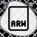 Arw File Arw File Format Icon