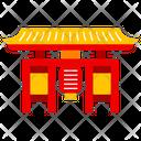 Asakusa Temple Tokyo City Icon