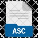 Asc File Icon