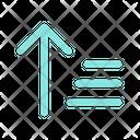 Ascending Order Sort Icon