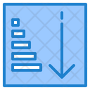 Ascending Sorting Icon