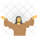 Ascension Jesus Christ Icon